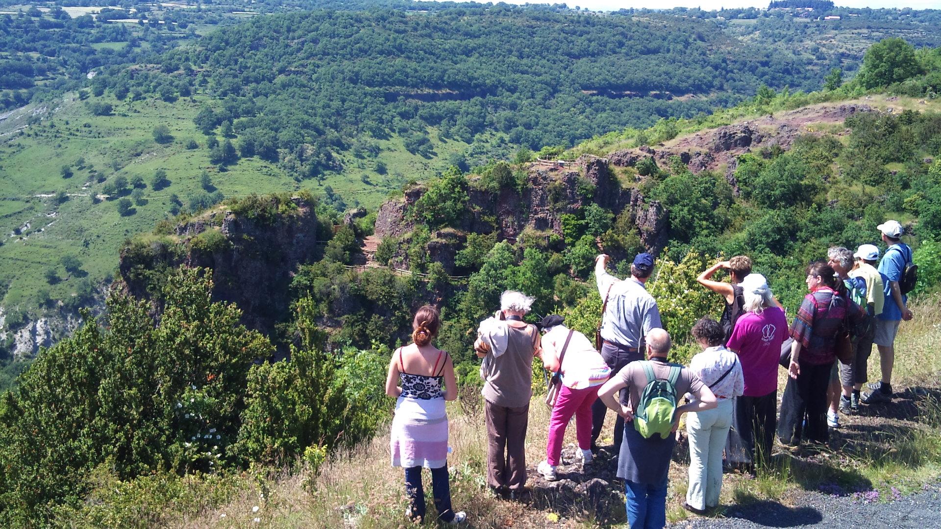 Le ROC de GOURDON , Sortie géologique