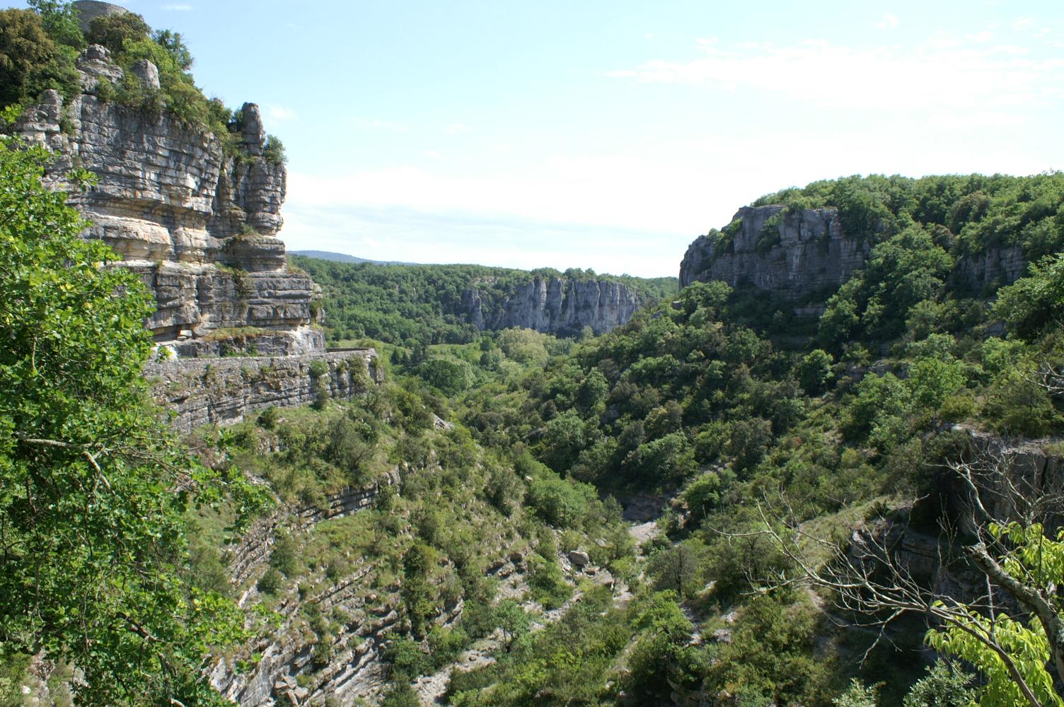 Sortie géodiversité à Balazuc